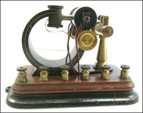 Western Electric Circircular Polar Telegraph Relay Unusual Early Design