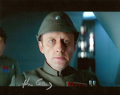 "Star Wars Kenneth Colley Hand Signed 8x10"" Photo COA Admiral Firmus Autograph"
