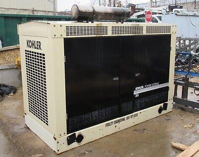 Kohler 35rzg Power Generator Natural Gas Fast Response 1800 Rpm 60 Hz 38kw 48kva