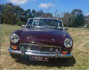 MGB Roadster 1969 MkII Macedon Ranges Preview