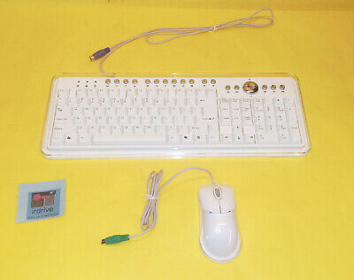 NEW PS/2 Multimedia Keyboard LK1100 + Optical Scroll Mouse LM3130 Desktop PC Set