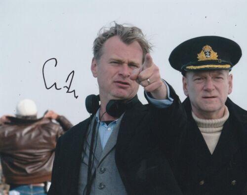 Christopher Nolan Signed DUNKIRK 10x8 Photo AFTAL OnlineCOA