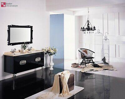 Lavabo Moderno Barroco Lavabo Doble Lujo Diseño Cuarto de Baño Mármol