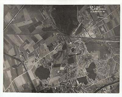 Vaulx (Possibly Tournai Belgium) - cWW1 Aerial Photo