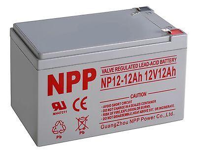 Npp 12V 12 Amp 12Ah Sla Battery Replaces Yuasa Np12 12  Enersys Genesis F2