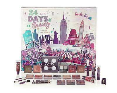 Q-Ki 24 Days Of Beauty Makeup Cosmetics Christmas Advent Calendar Large New York