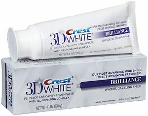 Crest3D White Brilliance Toothpaste Mesmerizing Mint 116g / 4.1oz