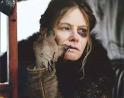 Jennifer Jason Leigh The Hateful Eight Actress Hand Signed 8X10 Photo Proof Coa