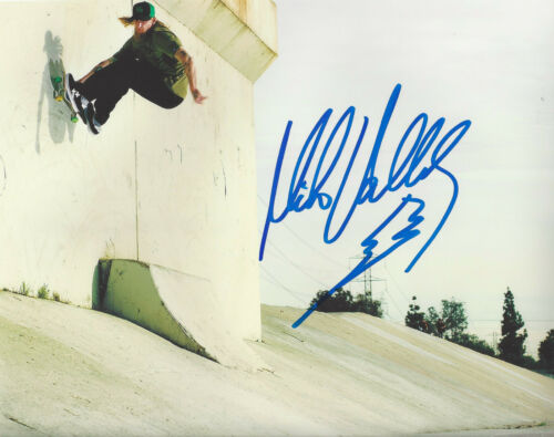MIKE VALLELY SKATEBOARD LEGEND SIGNED 8X10 PHOTO F w/COA BONES BRIGADE PROOF
