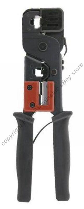 Lot4 RJ45(network/ethernet)RJ11/12(phone) Cat6 5e wire end Crimper/Crimp Tool{ER