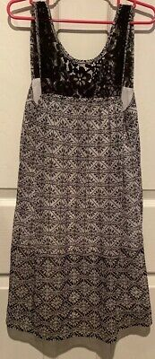 Abercrombie Kids Black N White Dress Size XS(8)