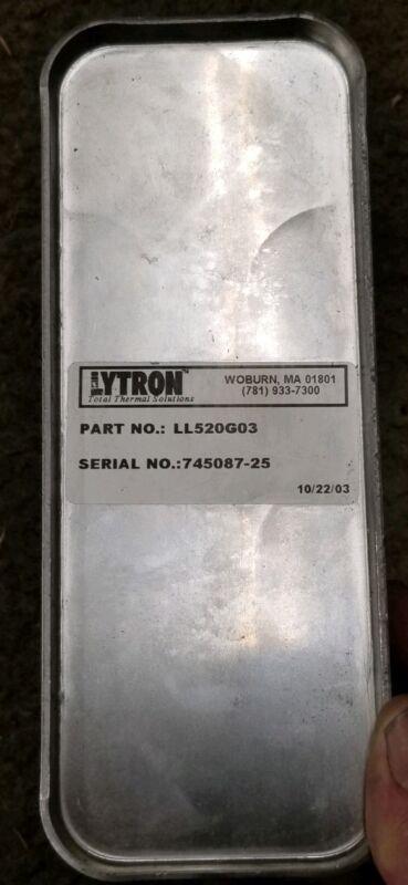 LYTRON HEAT EXCHANGER LIQUID TO LIQUID LL520G03