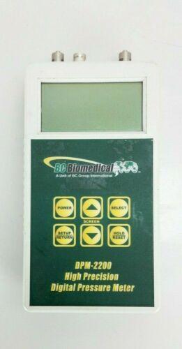 BC Biomedical DPM-2200 Pressure meter