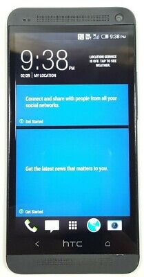 HTC One M7 32GB Black (AT&T) Good Condition GOOD IMEI
