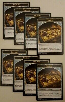 MTG Ixalan T M//NM 10 English x4 Treasure Token