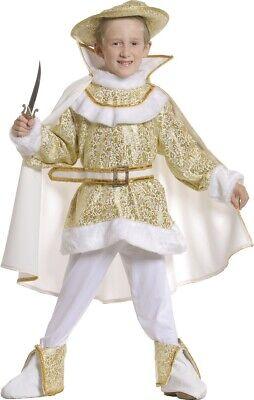 Déguisement Garçon PRINCE CHARMANT Blanc 8 Ans Costume Marquis Renaissance - Prince Charmant Kostüm
