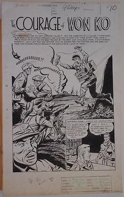 VERNON GREENE original art, THIS IS WAR #8,pgs 10 11 12 13 14 15,Golden Age,1953