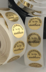 Stickers : Autographed by the author - Signed book