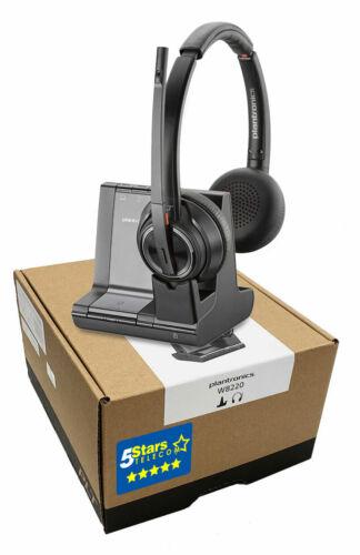 Plantronics Savi 8220 W8220 Wireless Headset (207325-01) Brand New 1 Yr Warranty