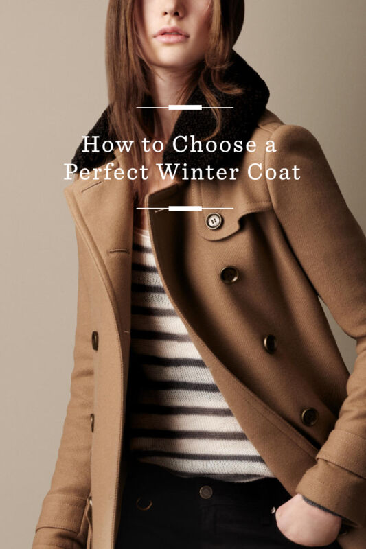 How to Choose a Perfect Winter Coat