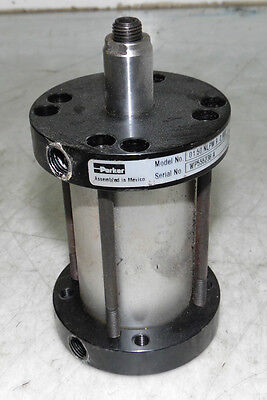 Parker Pneumatic Compact Cylinder, 01.50 NLPM9 2.000, USED, WARRANTY