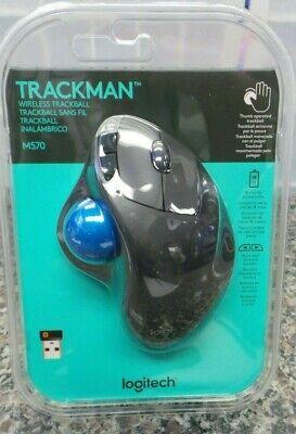Logitech M570 TRACKMAN Wireless Trackball MOUSE