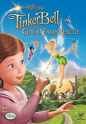 Arabic cartoon dvd for kids TINKER BELL THE GREAT FAIRY RESCUE egyptian dialect - Fairies Movies For Kids
