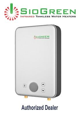 Water Heater Electric Tankless SioGreen Infrared IR260POU Best  1.5 GPM