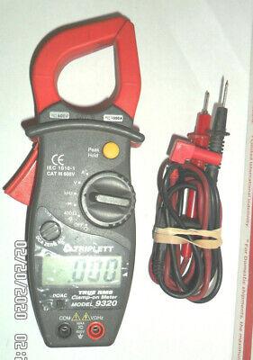 Triplett 9320 True Rms Acdc Clamp-on Meter