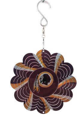Washington Redskins Ornament Metal Spinner Dangler NFL Football](Redskins Ornaments)