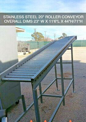 Roller Conveyor Stainless Steel Food Grade 11.5