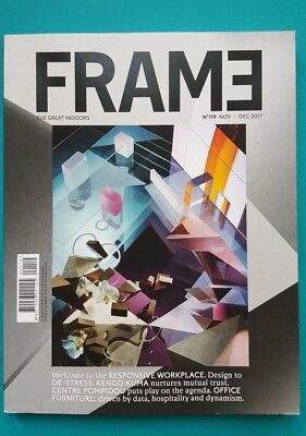 FRAME The Great Indoors N°119 Nov-Dec 2017 english   ungelesen 1A absolut TOP