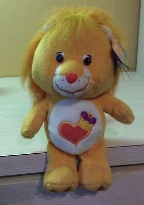 Care Bears Cousins Brave Heart Lion Collectors Edition 9 Inch NWT