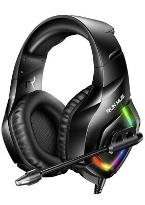 Gaming Headset RUNMUS PS4 Headset with 7.1 Surround Sound Xbox One Headset