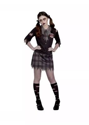 High School Horror Juniors Halloween Costume - Medium (9-11) Free Shipping