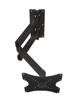 LONG ARM ARTICULATING CORNER TILT ARM SWIVEL LCD LED TV WALL MOUNT 32 36 37 40 Cantilever Tv Wall Mount