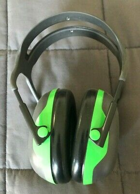 3m Peltor X1a Over-the-head Ear Muffs Noise Protection Nrr 22 Db Construction