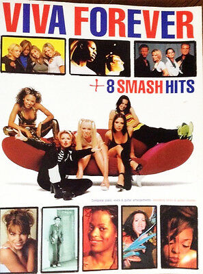 Viva Forever + 8 Smash Hits Songbook Music Book Piano Voice Guitar