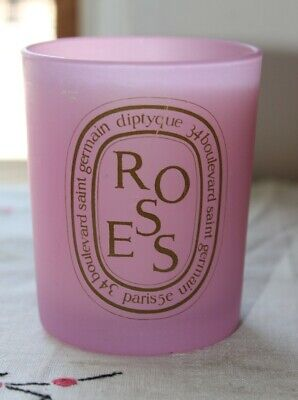 Diptyque Roses Pink Candle 6.5oz bougie parfumee not used no box