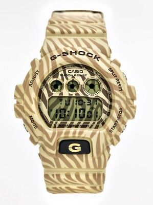 Casio G-Shock Gold Zebra Edition, DW-6900ZB-9ER, Alarm, Stopwatch, Timer, used for sale  Shipping to Ireland