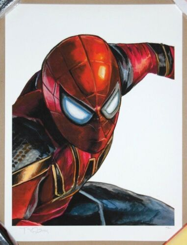 Tim Doyle MADE-UP NAMES Giclee Mini Poster /200 Spider-Man Marvel Comics