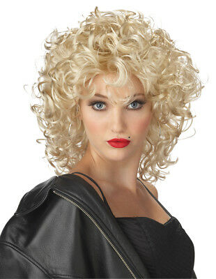Bad Girl Sandy Grease Women Costume Wig