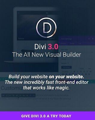 Divi Theme 3.8 Divi Builder For Wordpress