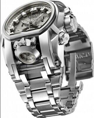 Invicta Reserve Bolt Zeus Magnum Dual Swiss Mvmt TWO Meteorite Dials Watch
