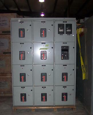 General Electric 1600 Amp AKD Metal Enclosed  Switchgear 480 Volt