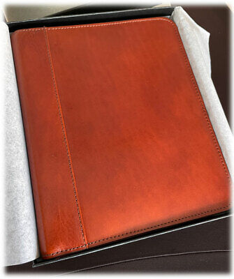 New Franklin Covey Carter Leather Zipper Binder Planner 195