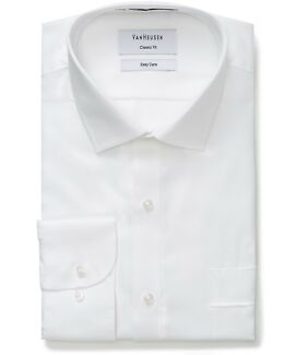 Van Heusen men white shirt easy care
