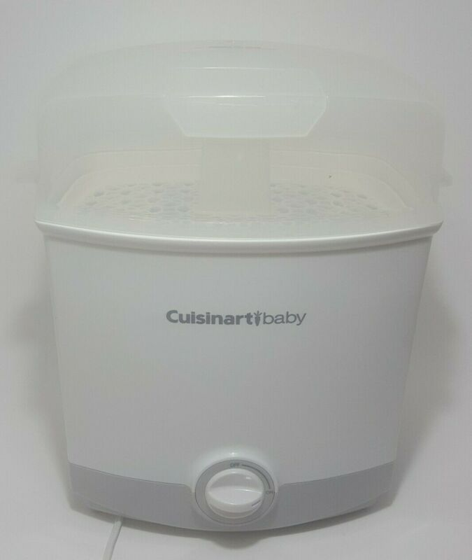 Cuisinart CS-6 Baby Bottle Electric Steam Sterilizer. Tested, Working