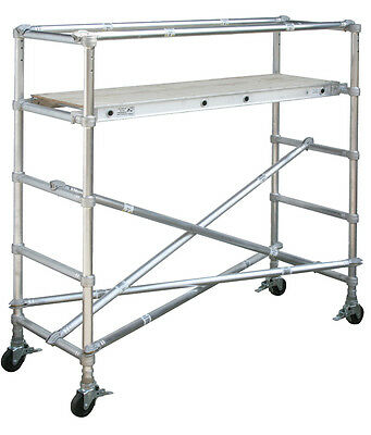 Werner Aluminum Scaffolding Base Unit - 29 Wide X 6 Long - Model 4101