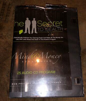Bob Proctor Mind & Money Strategies 25 Audio Cd Program David Schirmer Rare Asis